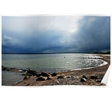 Baltic Sea Side clouds Poster