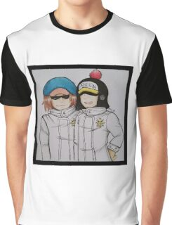Shachi and Penguin Graphic T-Shirt