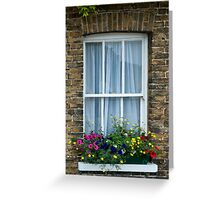 Cottage Window, Sandwich, Kent Greeting Card