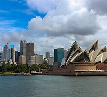 VIEWS OF SYDNEY HARBOUR 07 by danvar