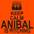 Keep Calm - Anibal is pitching by Daire Ó'Hearáin-Olsen