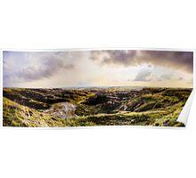 Badlands Overlook Poster