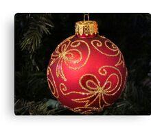 Christmas Series -C ^ Canvas Print