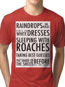 Build God, Then We'll Talk Tri-blend T-Shirt