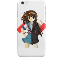 The Disappearance ofHaruhi Suzumiya  iPhone Case/Skin