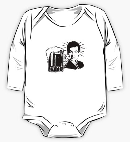 A Mother Effin' Beer One Piece - Long Sleeve