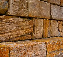 BURGHEAD PIER ROCKS by JASPERIMAGE