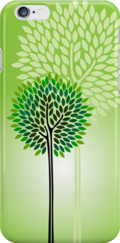 Green Green [iPhone cover] by veverka