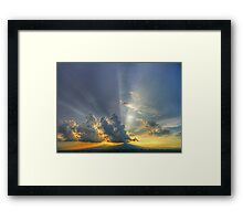 ©HCS Sunshine Between Cumulonimbus Castellanus I Framed Print