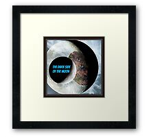 the dark side of the moon Framed Print