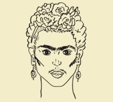The Frida Portrait by Jessia