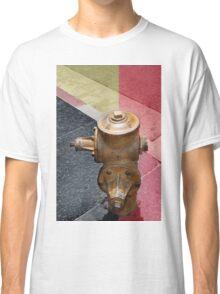 sunset fire hydrant Classic T-Shirt