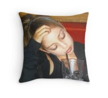 Tired Tiny Dancer.. Throw Pillow