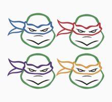 Ninja Turtle Tee by Madison Bailey