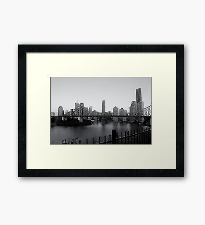 Story Bridge - Brisbane CBD Framed Print