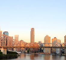 Story Bridge - Brisbane CBD by MelanieCleal