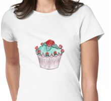 Cup Cake Princess Womens Fitted T-Shirt