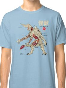 Kaiju Anatomy Classic T-Shirt