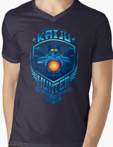 Kaiju Hunter Mens V-Neck T-Shirt
