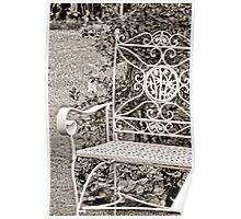 Vintage Looking Chair - Digital Oil Poster