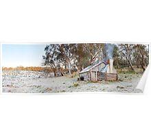Frosty Guys Hut, Alpine National Park, Victoria, Australia Poster
