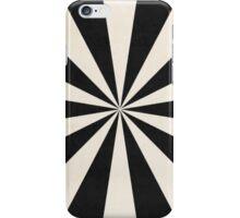black starburst iPhone Case/Skin