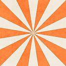 orange starburst by beverlylefevre