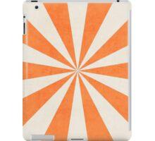 orange starburst iPad Case/Skin