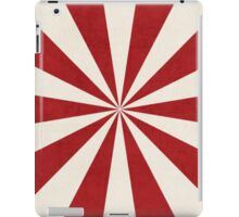 red starburst iPad Case/Skin