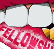 Fellowship Lips  Sticker