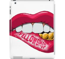 Fellowship Lips  iPad Case/Skin