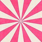 hot pink starburst by beverlylefevre