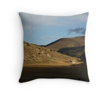 Nestled Among the Hills Throw Pillow