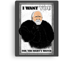 Defend the Realm: Join the Night's Watch Canvas Print