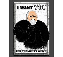 Defend the Realm: Join the Night's Watch Photographic Print