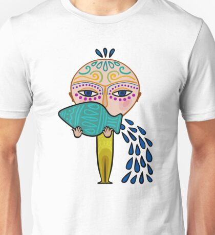 aquarius zodiac sign Unisex T-Shirt