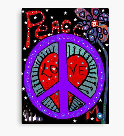 Peace in the Night Canvas Print