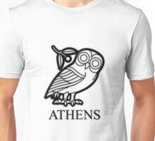 Athens owl of Athena Unisex T-Shirt