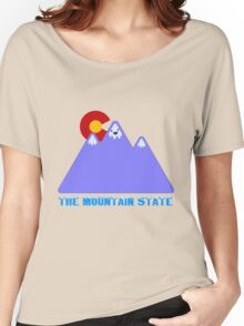 "Colorado ""The Mountain State"" Women's Relaxed Fit T-Shirt"