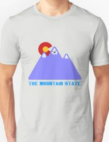 """Colorado """"The Mountain State"""" T-Shirt"""