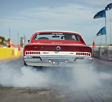 Valiant Charger Burnout by John Jovic