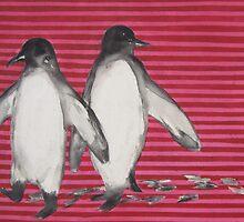 jolly penguins by janekaye