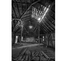 Daylight Through The Roof Photographic Print