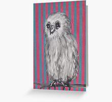 Mrs Owl Greeting Card