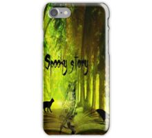 spooky story iPhone Case/Skin