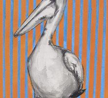Mr Pelican by janekaye