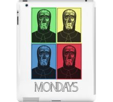 Mondays- In Color! iPad Case/Skin