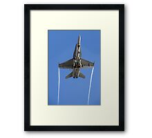 Military in San Diego Framed Print