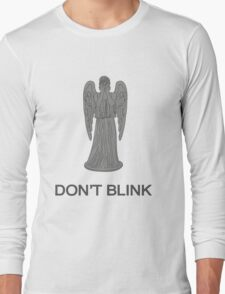 Weeping Angel -Don't Blink Long Sleeve T-Shirt