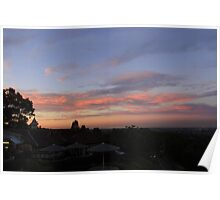View from Mt Cootha Poster